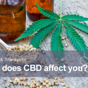 What is CBD and how doe it affect you for medical and theraputic purposes?